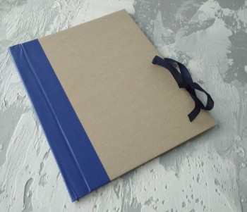 Папка с гребешками, на завязках, формат книжный А4, корешок 4см ПГМк4З