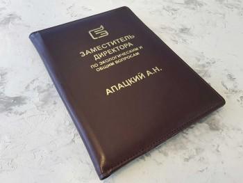 Папка из кожи Заместитель директора по экологическим вопросам ПН45354041