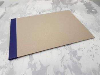 Папка с гребешками, с перфорацией, формат альбомный А4, корешок 1см ПГМа1П