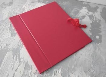 Папка с гребешками, на завязках, ф-т книжный А4, оклейка бумвинилом, корешок 5см ПГМБк5З