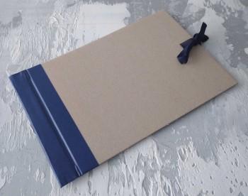 Папка с гребешками, на завязках, формат альбомный А4, корешок 5см ПГМа5З