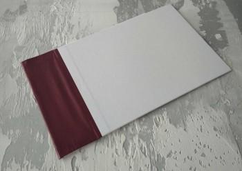Папка с гребешками, формат альбомный А4, оклейка офсетной бумагой, корешок 7см ПГМОа7П