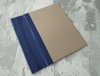 Папка с гребешками, формат книжный А4, корешок 8см ПГМк8