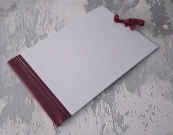 Папка с гребешками, завязки, ф-т альбомный А4, оклейка офсетной бум, корешок 6см ПГМОа6З