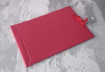 Папка с гребешками, на завязках, ф-т альбомный А4, оклейка бумвинилом, корешок 5см ПГМБа5З
