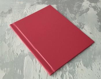 Папка с гребешками, перфорация, ф-т книжный А4, оклейка бумвинилом, корешок 3см ПГМБк3П