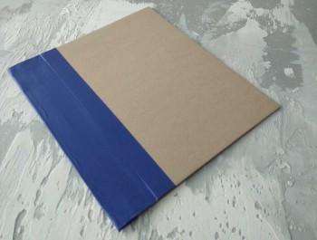 Папка с гребешками, с перфорацией, формат книжный А4, корешок 7см ПГМк7П