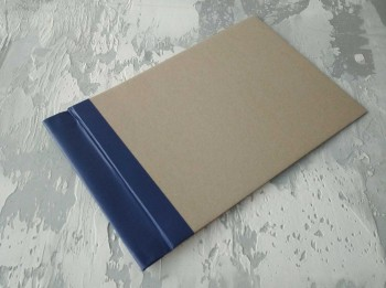 Папка с гребешками, с перфорацией, формат альбомный А4, корешок 4см ПГМа4П