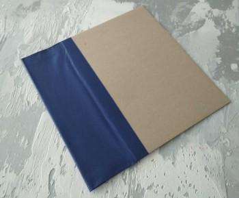 Папка с гребешками, формат книжный А4, корешок 9см ПГМк9