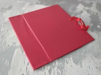 Папка с гребешками, на завязках, ф-т книжный А4, оклейка бумвинилом, корешок 10см ПГМБк10З