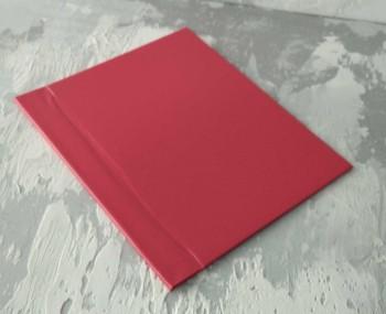 Папка с гребешками, перфорация, ф-т книжный А4, оклейка бумвинилом, корешок 5см ПГМБк5П