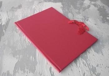 Папка с гребешками, на завязках, ф-т книжный А4, оклейка бумвинилом, корешок 2см ПГМБк2З