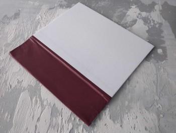Папка с гребешками, формат книжный А4, оклейка офсетной бумагой, корешок 8см ПГМОк8