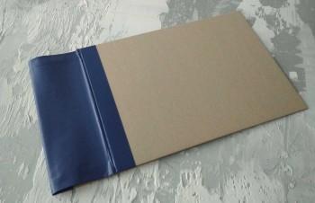 Папка с гребешками, с перфорацией, формат альбомный А4, корешок 9см ПГМа9П