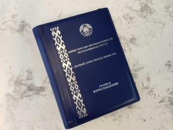 Папка из кожи Первый заместитель министра срочная корреспонденция ПН8189605854