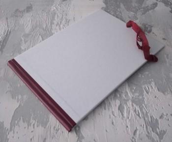 Папка с гребешками, завязки, ф-т альбомный А4, оклейка офсетной бум, корешок 2см ПГМОа2З