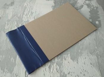 Папка с гребешками, с перфорацией, формат альбомный А4, корешок 8см ПГМа8П