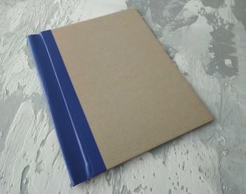 Папка с гребешками, с перфорацией, формат книжный А4, корешок 4см ПГМк4П