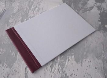 Папка с гребешками, формат альбомный А4, оклейка офсетной бумагой, корешок 6см ПГМОа6