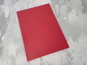 Папка с гребешками, перфорация, ф-т книжный А4, оклейка бумвинилом, корешок 1см ПГМБк1П
