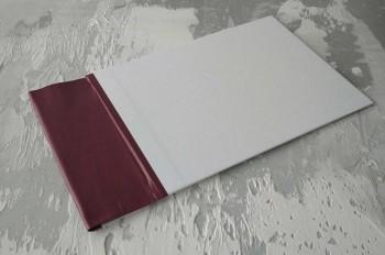 Папка с гребешками, формат альбомный А4, оклейка офсетной бумагой, корешок 9см ПГМОа9