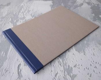Папка с гребешками, с перфорацией, формат альбомный А4, корешок 2см ПГМа2П