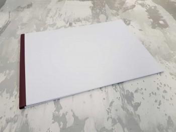 Папка с гребешками, формат альбомный А4, оклейка офсетной бумагой, корешок 1см ПГМОа1