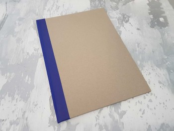 Папка с гребешками, с перфорацией, формат книжный А4, корешок 1см ПГМк1П
