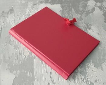 Папка с гребешками, на завязках, ф-т книжный А4, оклейка бумвинилом, корешок 4см ПГМБк43