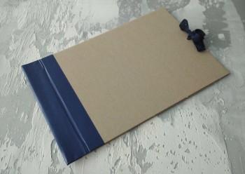 Папка с гребешками, на завязках, формат альбомный А4, корешок 6см ПГМа6З